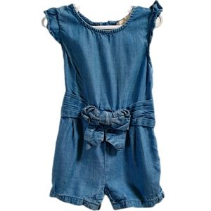 Kate Spade Toddler Girls Demin Style Romper 12 Mth